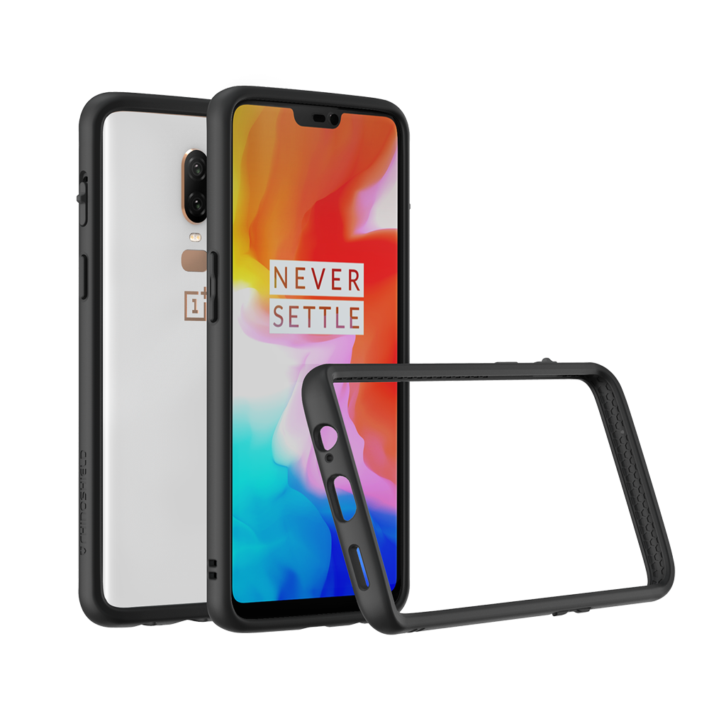 RhinoShield Crash Bumper Case για Oneplus 6 Black