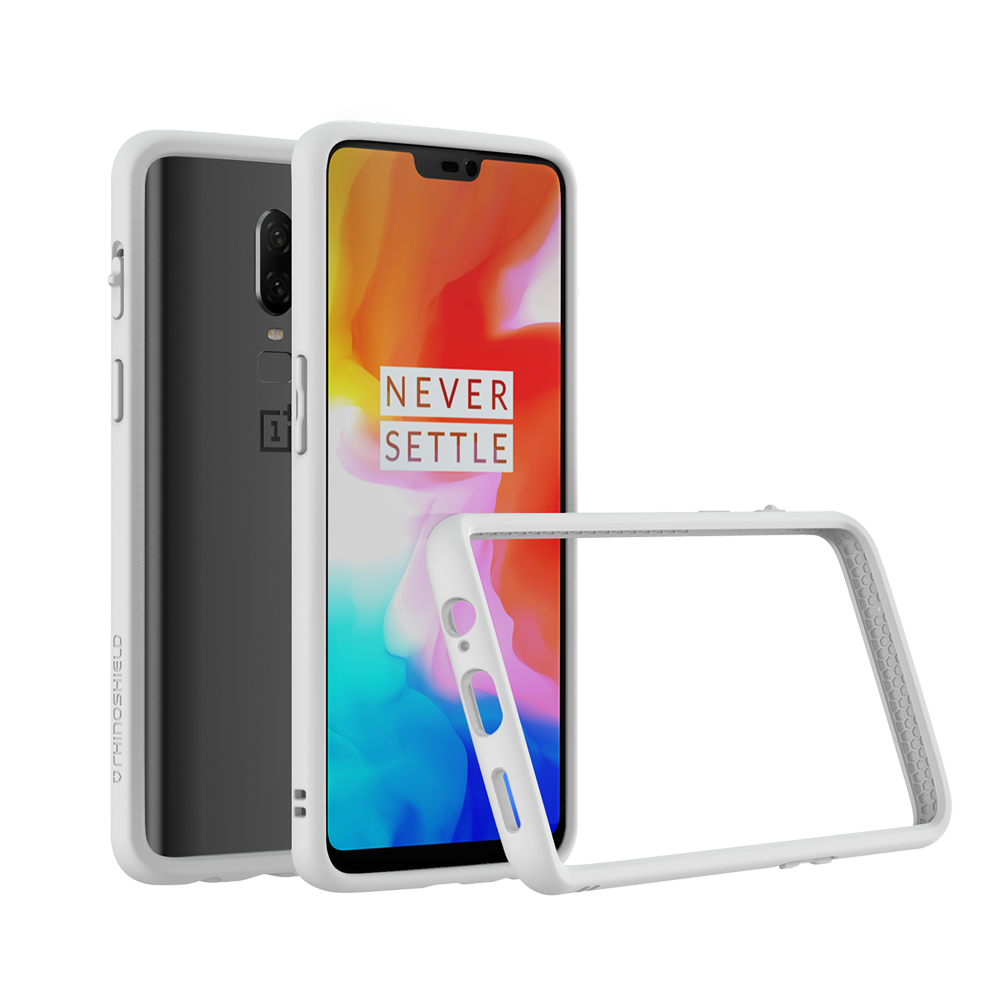 RhinoShield Crash Bumper Case για Oneplus 6 White