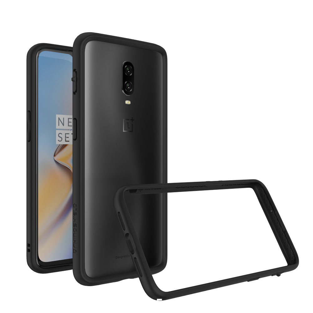 RhinoShield Crash Bumper Case για Oneplus 6T Black