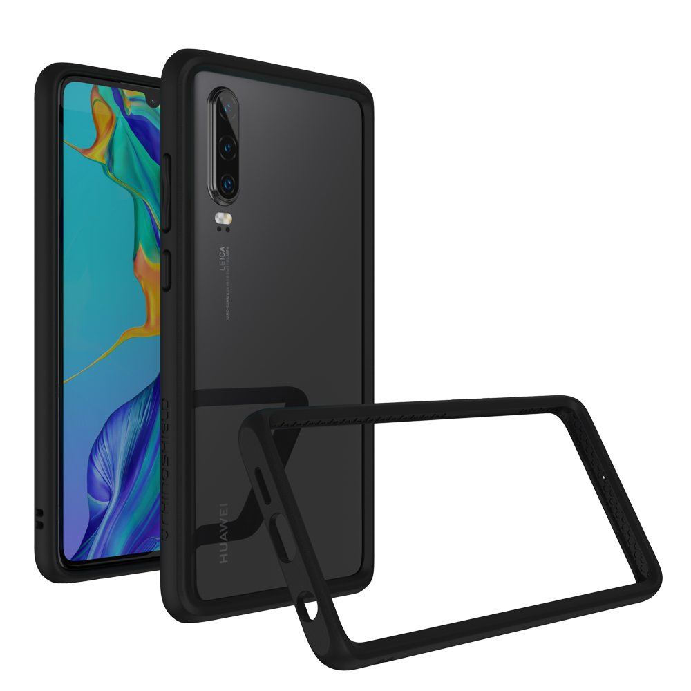 RhinoShield Crash Bumper Case για Huawei P30 Black