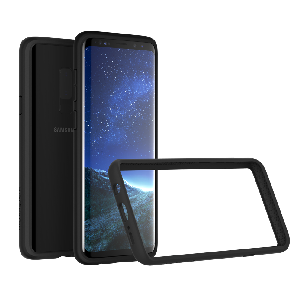 RhinoShield Crash Bumper Case για Samsung SM-G965F Galaxy S9+ (Plus) Black