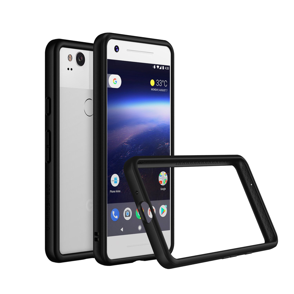 RhinoShield Crash Bumper Case για Google Pixel 2 Black