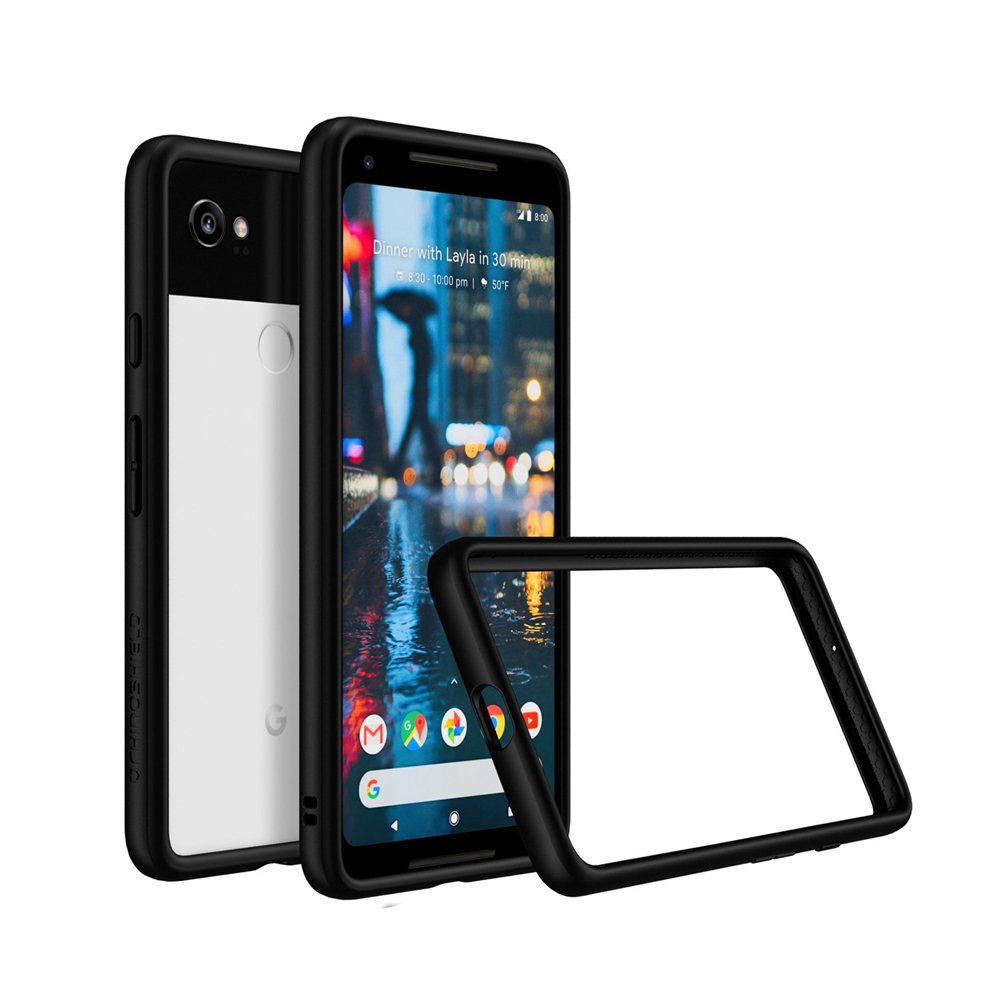 RhinoShield Crash Bumper Case για Google Pixel 2 XL Black