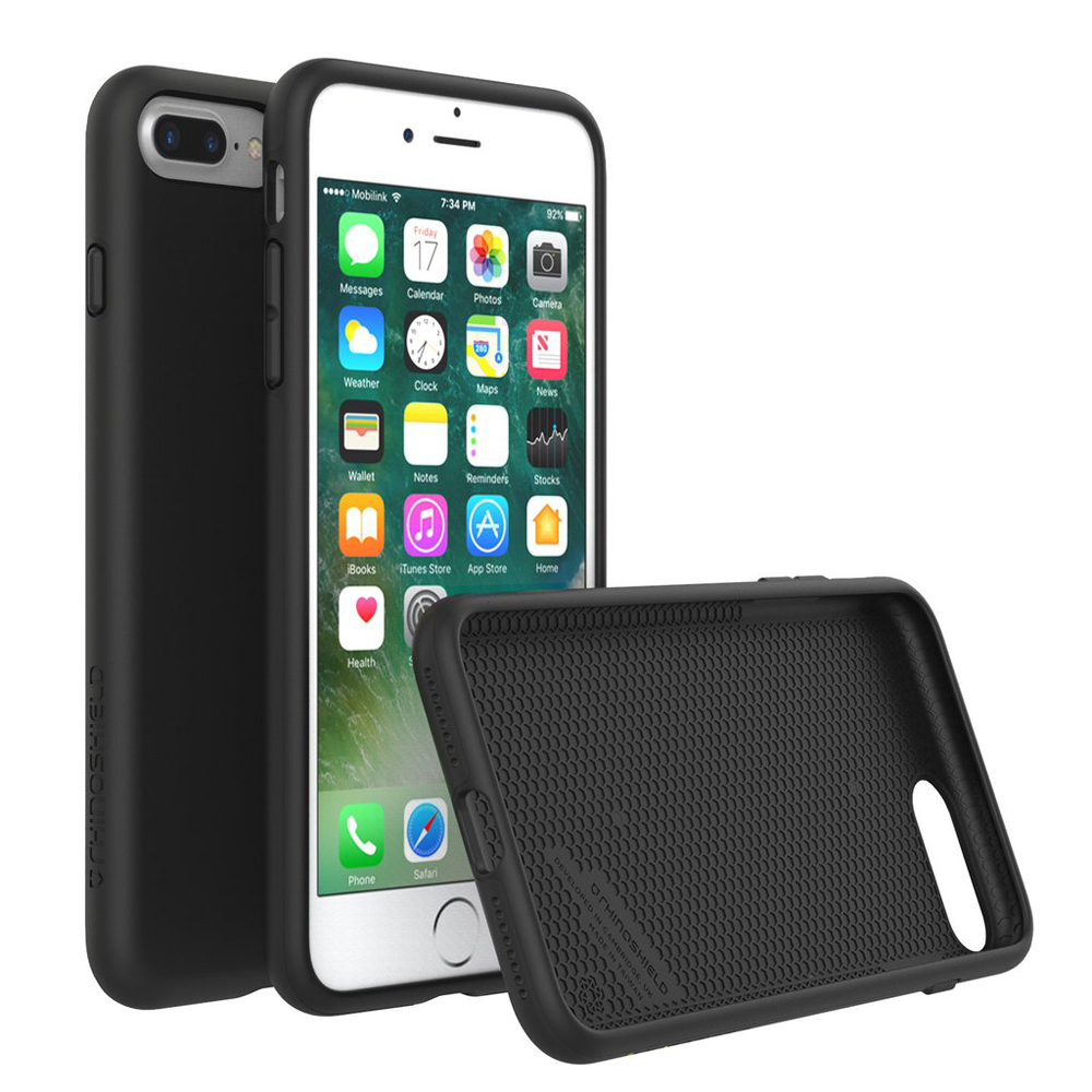 "RhinoShield SolidSuit Case για iPhone 7 & 8 Plus (5.5"") Black"