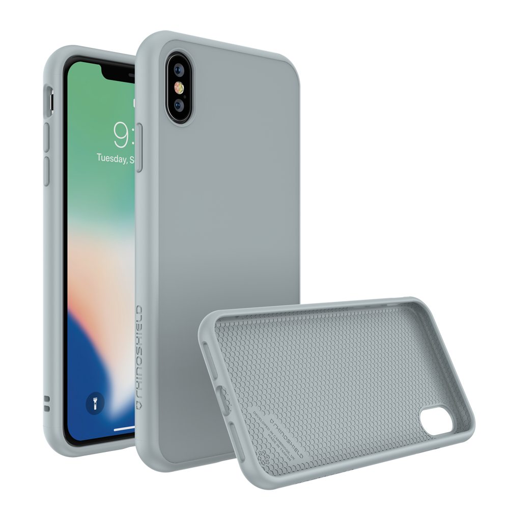 RhinoShield SolidSuit Case για Apple iPhone XS Max Cloud Gray