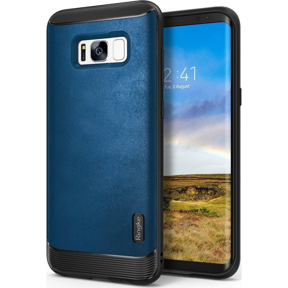 Ringke Flex S Series Case για Samsung SM-G955F Galaxy S8+ (Plus) Deep Blue (Προστασία 360 μοίρες)