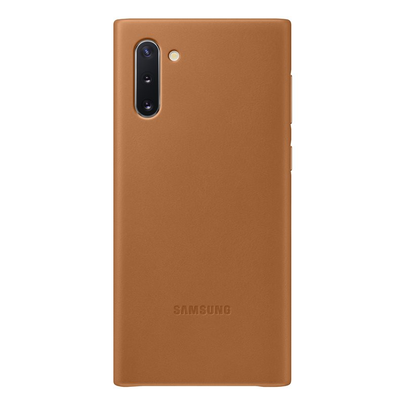 "Samsung EF-VN970LAE Leather Cover Case ""Genuine Leather"" για Samsung SM-N970 Note 10 Brown"