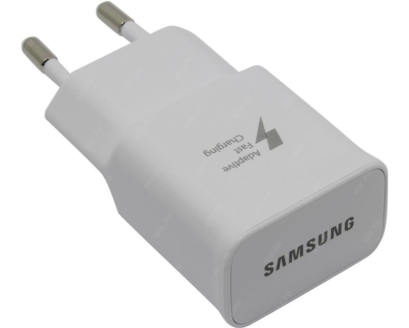 Samsung EP-TA20EWE Adaptive Fast Charging Travel Adapter με υποστήριξη Quick Charge QC2.0 (5V @ 2A / 9V @ 1.67A) (Retail)