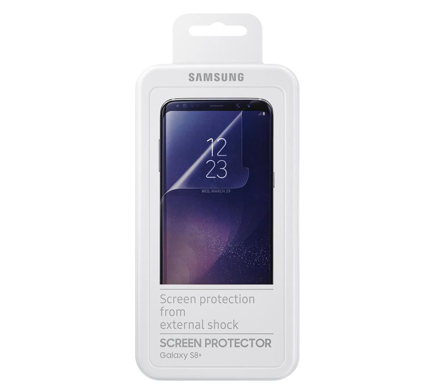 Samsung ET-FG955CTE Full Curved Screen Protector για Samsung SM-G955F Galaxy S8+ (Plus) Ultra Clear (2pcs)