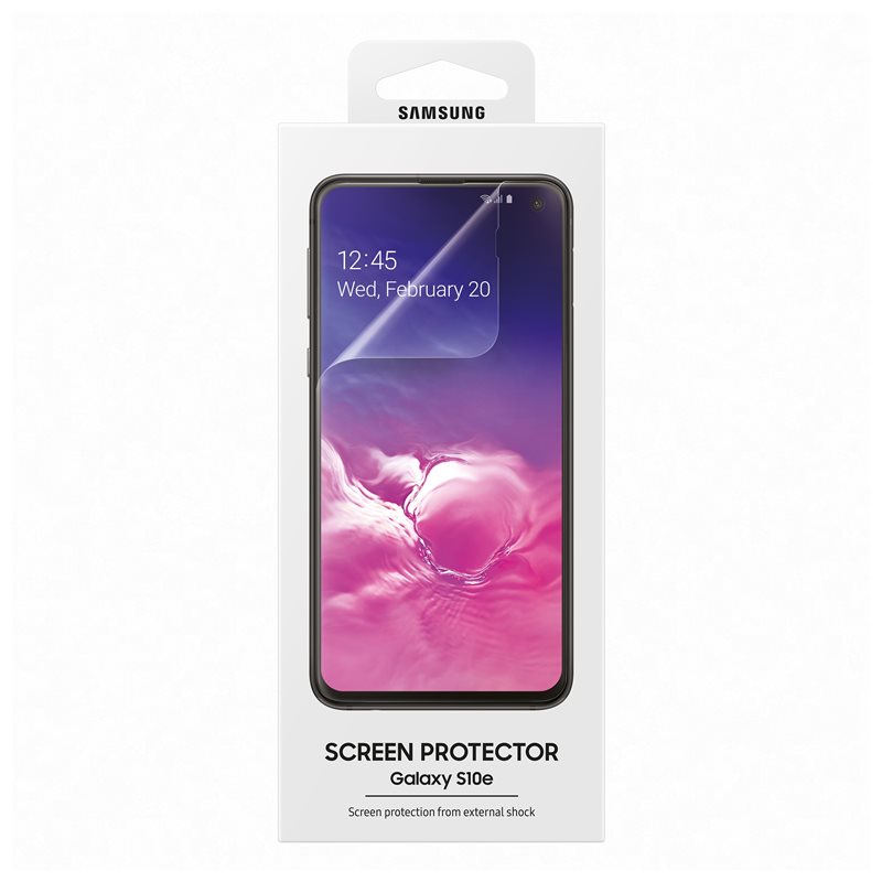 Samsung ET-FG970CTE Full Curved Screen Protector για Samsung SM-G970F Galaxy S10e Ultra Clear (2pcs)