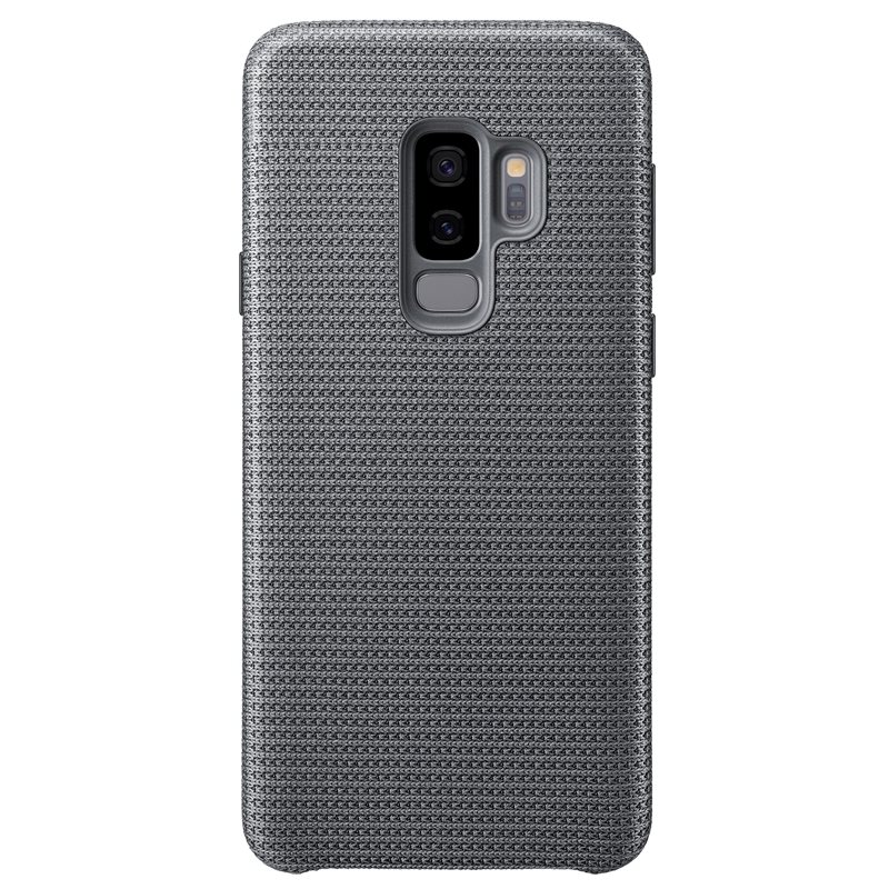 "Samsung EF-GG965FJE ""Sporty & Light"" Hyperknit Cover Case για SM-G965F Galaxy S9+ (Plus) Gray"