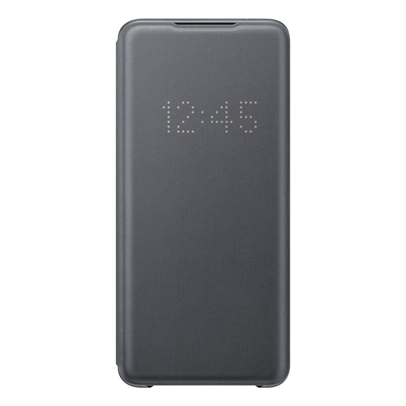 Samsung EF-NG988PJE Smart Led View Cover Case για SM-G988F Galaxy S20 Ultra Gray