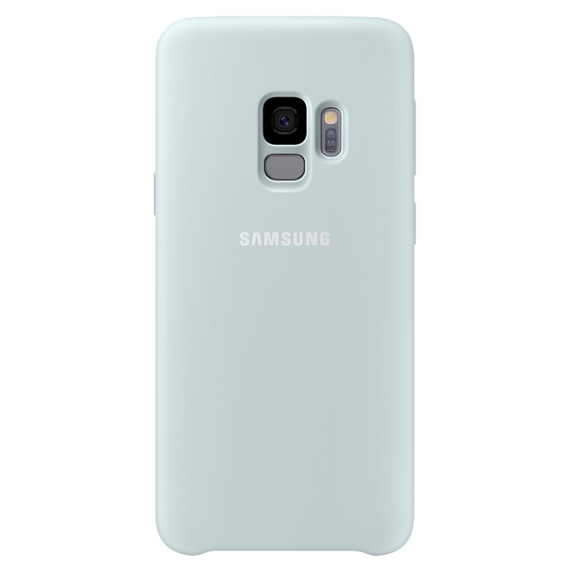 Samsung EF-PG960TLE Silicone Cover (Silky & Soft-Touch Finish) για SM-G960F Galaxy S9 Blue