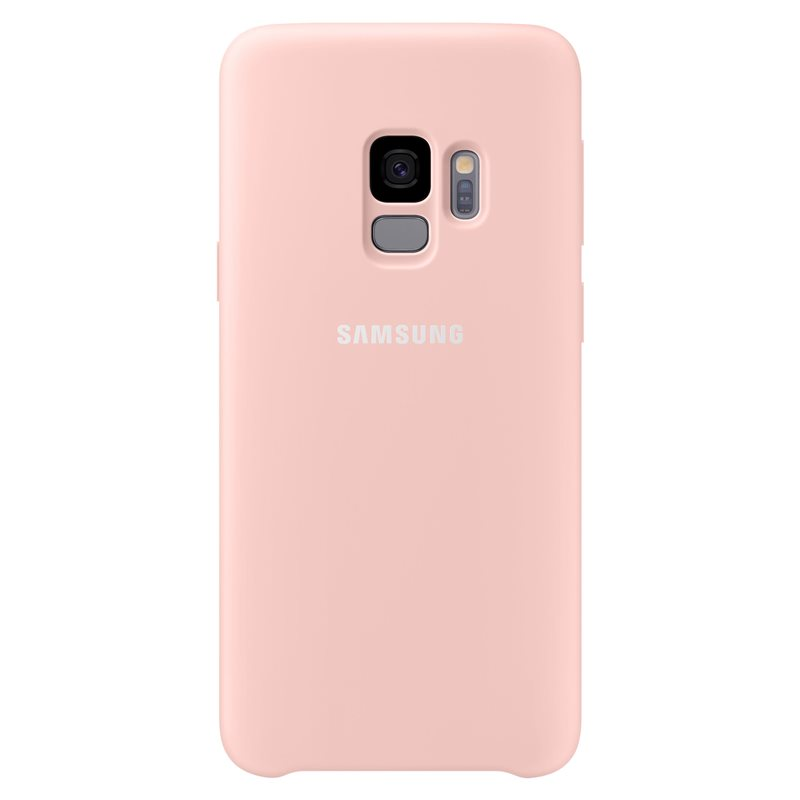 Samsung EF-PG960TPE Silicone Cover (Silky & Soft-Touch Finish) για SM-G960F Galaxy S9 Pink