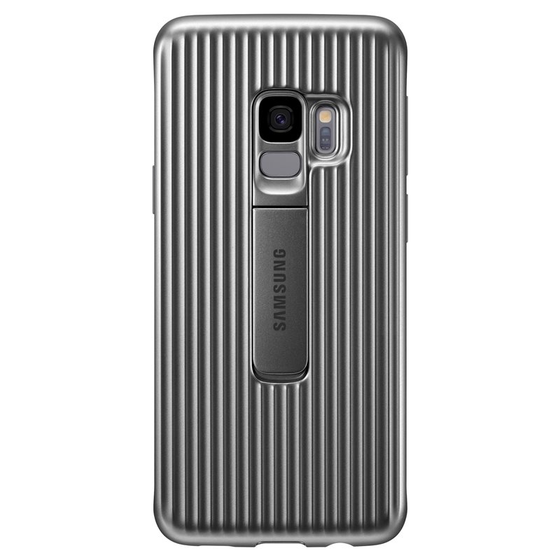 "Samsung EF-RG960CSE ""Ultimate Device Protection"" Protective Standing Cover Case για SM-G960F Galaxy S9 Silver"
