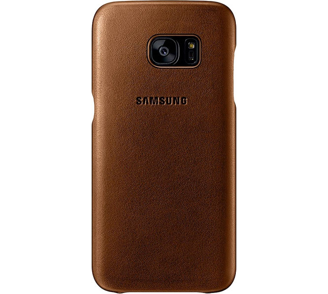 Samsung EF-VG930LDE Leather Cover Case για SM-G930F Galaxy S7 Brown