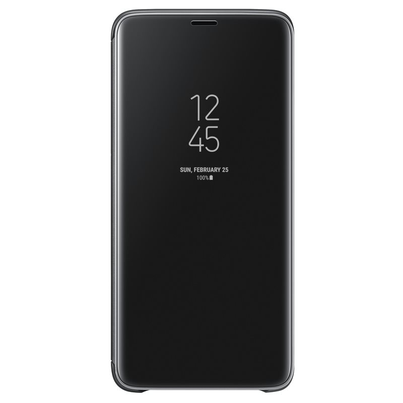 Samsung EF-ZG965CBE Clear View & Standing Cover Case για SM-G965F Galaxy S9+ (Plus) Black