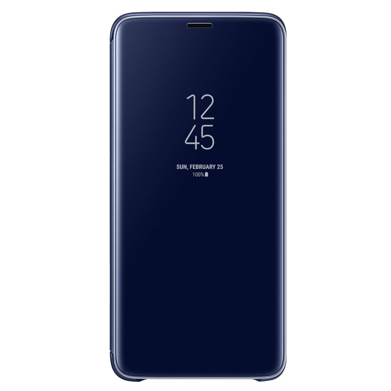 Samsung EF-ZG965CLE Clear View & Standing Cover Case για SM-G965F Galaxy S9+ (Plus) Blue