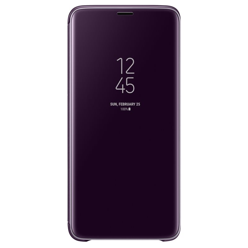 Samsung EF-ZG965CVE Clear View & Standing Cover Case για SM-G965F Galaxy S9+ (Plus) Purple