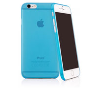 "Caseual Thin Slim Case 0.35mm για iPhone 6 / 6S (4.7"") Blue"
