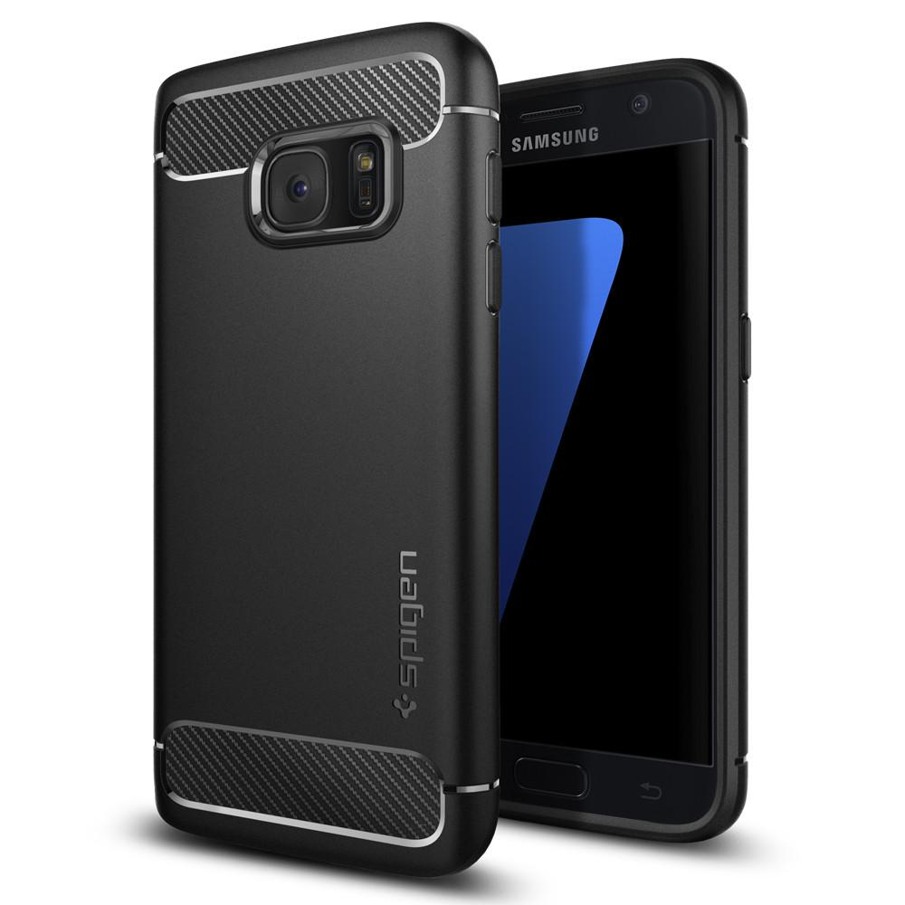 Spigen (SGP-555CS20007) Case Capsule Ultra Rugged για Samsung SM-G930F Galaxy S7 Black