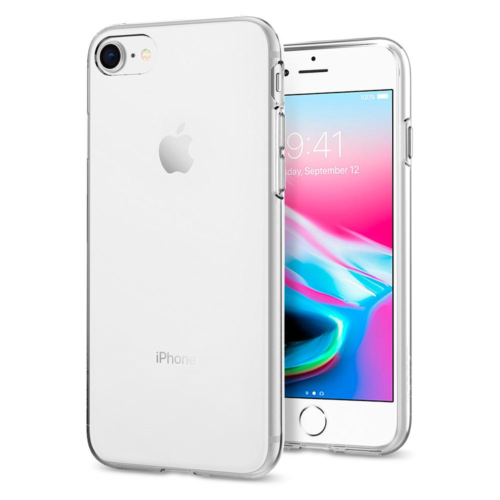 "Spigen (SGP-042CS20435) Case Liquid Crystal (TPU) για Apple iPhone 7 & 8 (4.7"") Crystal Clear"