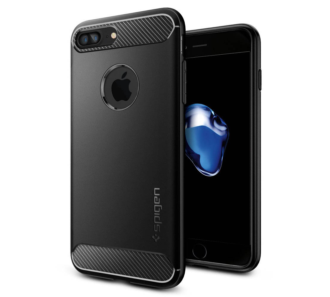 "Spigen (SGP-043CS20485) Case Capsule Ultra Rugged για Apple iPhone 7 & 8 Plus (5.5"") Black"