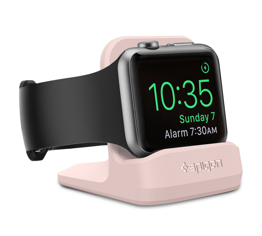 Spigen SGP000CD21183 Apple Watch 38mm / 42mm Night Stand S350 Pink