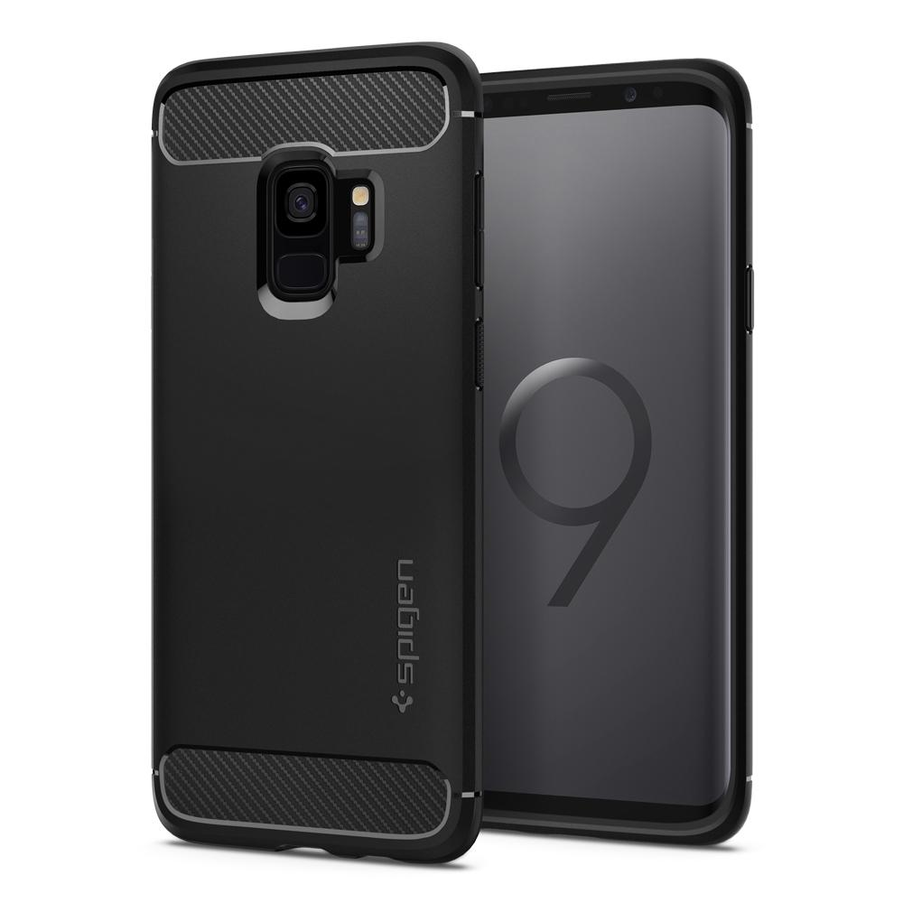 Spigen (SGP-592CS22834) Case Rugged Armor για Samsung SM-G960F Galaxy S9 Black