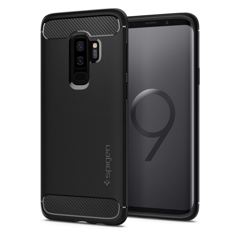 Spigen (SGP-593CS22921) Case Rugged Armor για Samsung SM-G965F Galaxy S9+ (Plus) Black