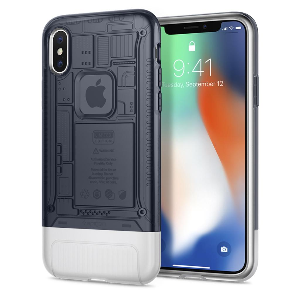 "Spigen (SGP-057CS23197) Case Classic C1 (Limited Edition) για Apple iPhone X (5.8"") Graphite"