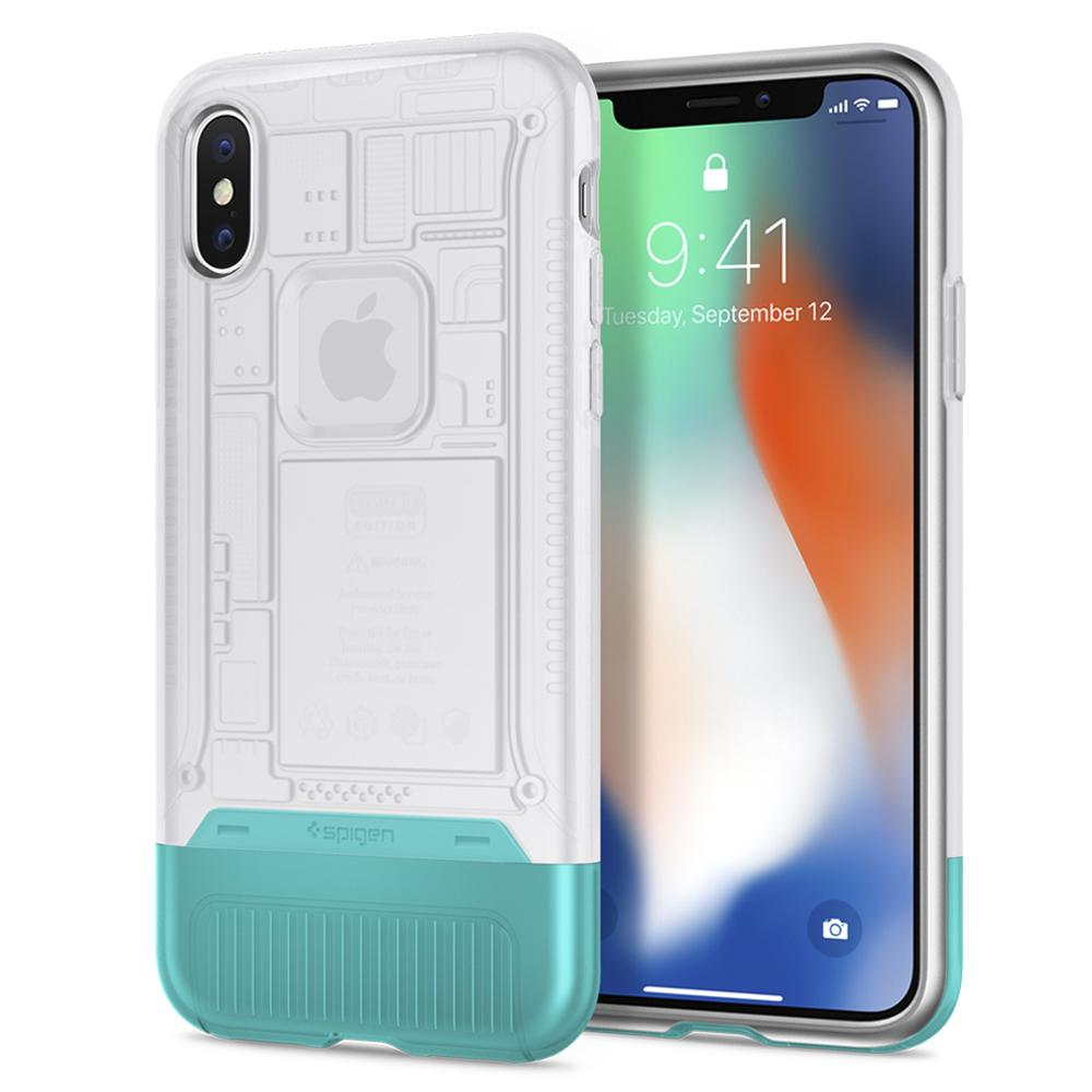 Spigen (SGP-057CS23198) Case Classic C1 (Limited Edition) για Apple iPhone X / iPhone XS Snow
