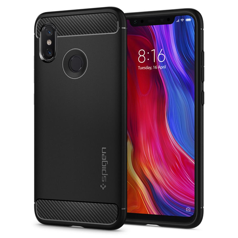 Spigen (SGP-S11CS23359) Case Rugged Armor για Xiaomi Mi 8 Black