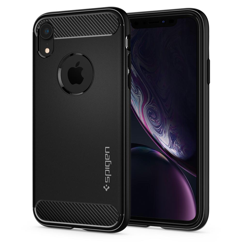 Spigen (SGP-064CS24871) Case Rugged Armor για Apple iPhone XR Black