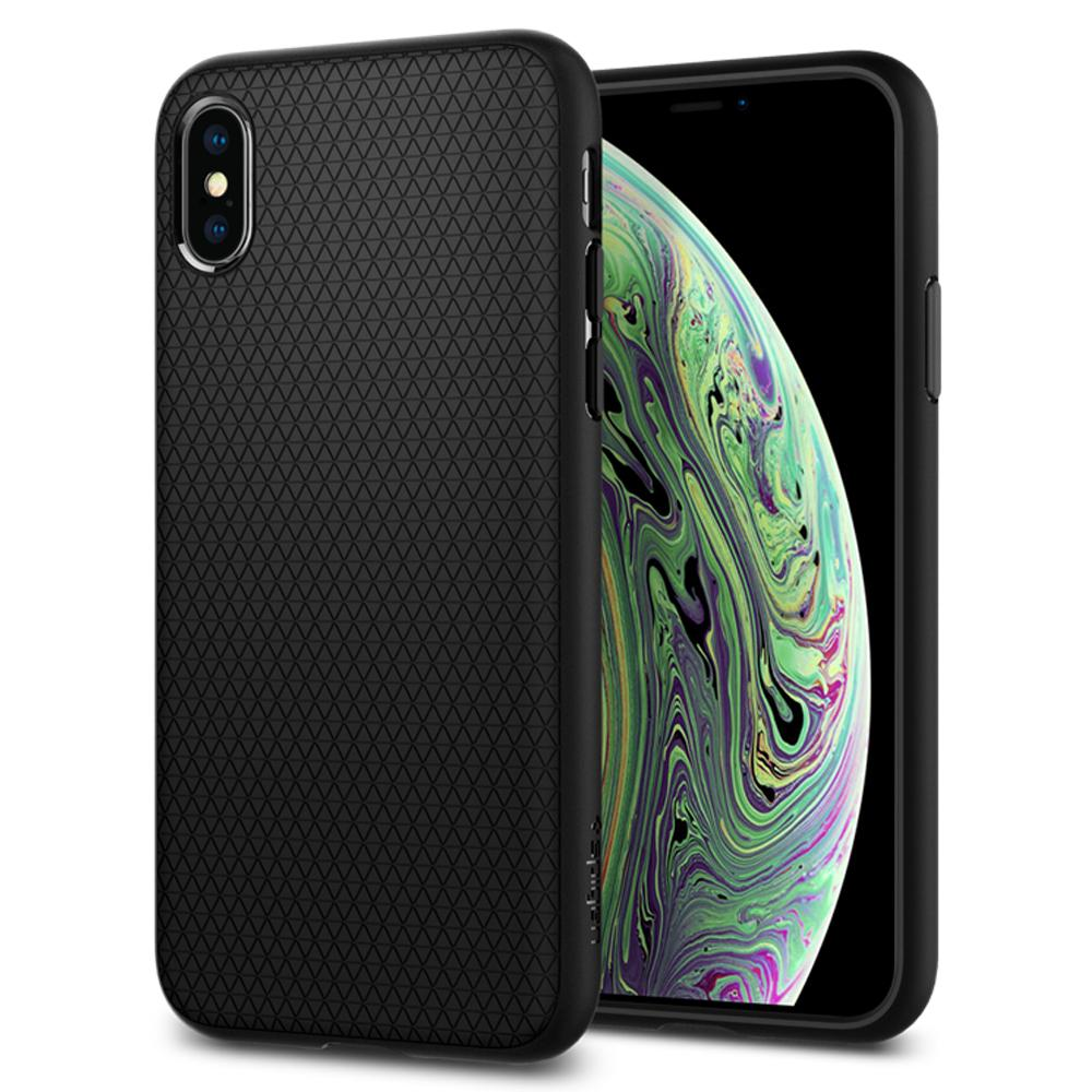 Spigen (SGP-063CS25114) Case Liquid Air (TPU) για Apple iPhone X / iPhone XS Black