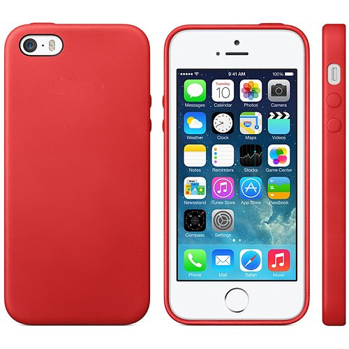 STK Fashionable Protective TPU Case για iPhone 5 Red (Λεπτή και ελαφριά!)