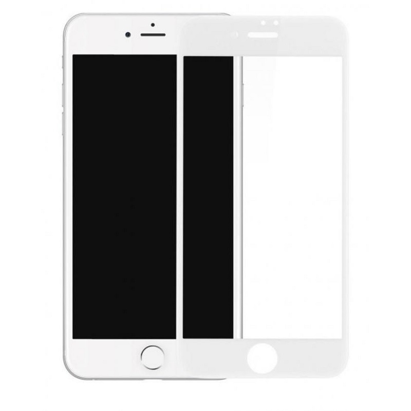 "Soultronic Premium Tempered 3D Full Face Glass Protector για Apple iPhone 7 & 8 Plus (5.5"") White"