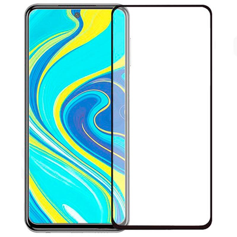 Soultronic Tempered Glass Full Face Screen Protector Black για Xiaomi Redmi Note 9S / Redmi Note 9 Pro
