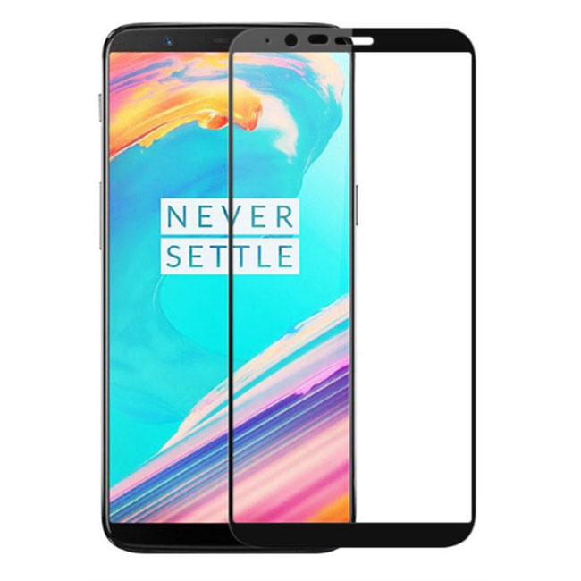 Soultronic Tempered Glass Full Face Screen Protector για Oneplus 5T Black