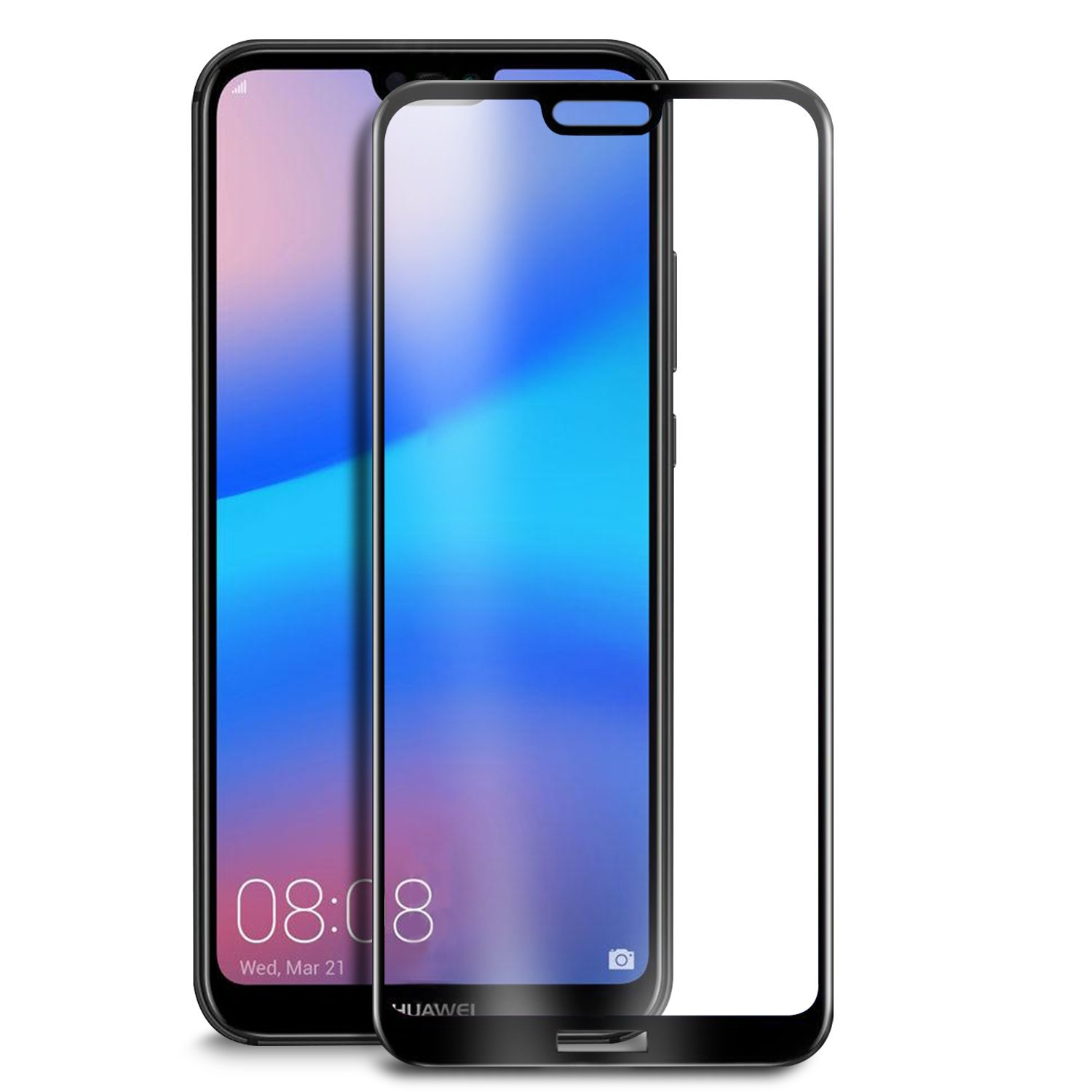 Soultronic Premium 3D Tempered Full Glass Protector για Huawei P20 Lite Black
