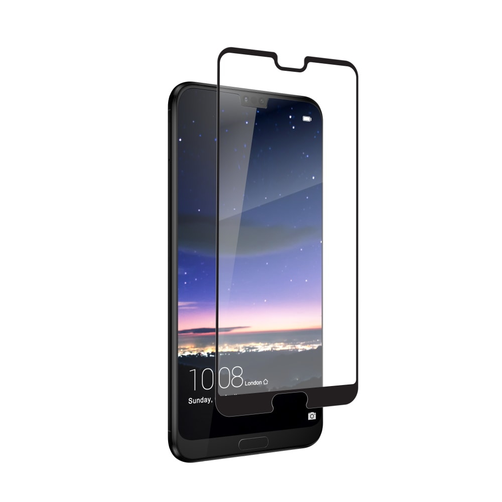 Soultronic Tempered 3D Full Glass Protector Black για Huawei P20 Pro