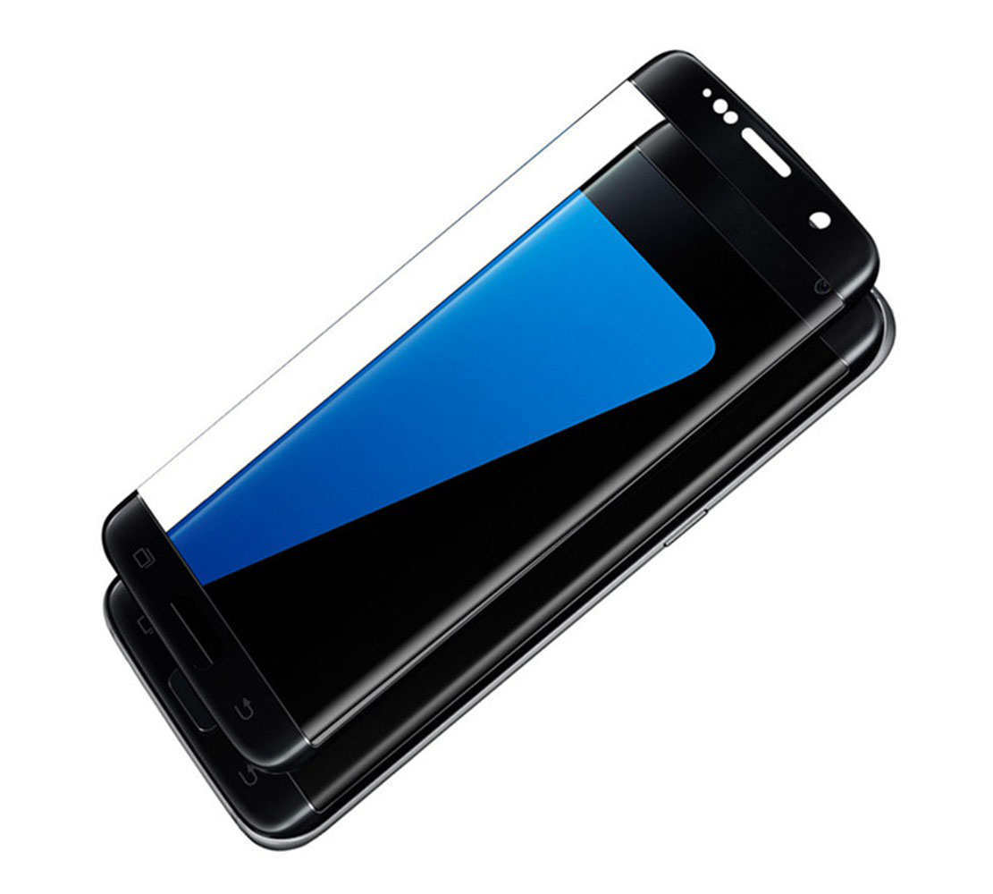 Soultronic Tempered Full Glass Protector για Samsung SM-G935F Galaxy S7 Edge Black