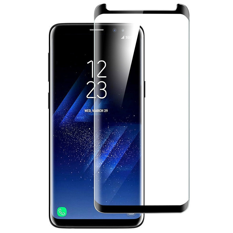 Soultronic 3D Full Glass Protector για Samsung SM-G965F Galaxy S9+ (Plus) Black (Case Friendly)