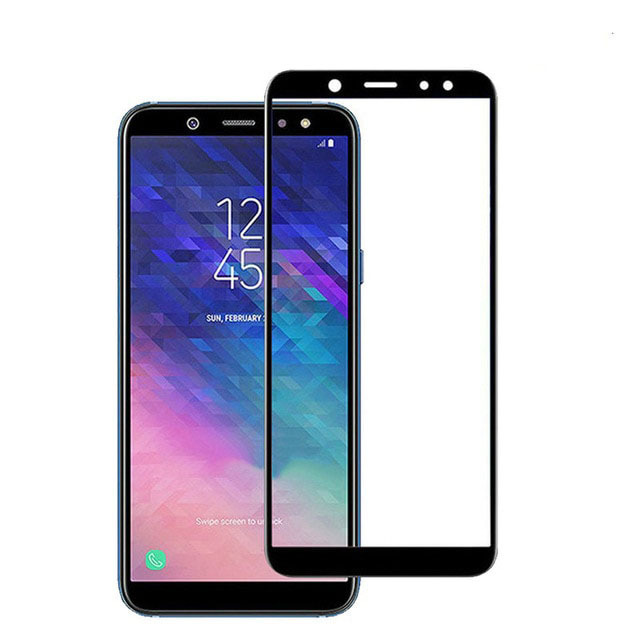 Soultronic Premium Tempered 3D Full Face Glass Protector για Samsung SM-A605 Galaxy A6+ (Plus) (2018) Black