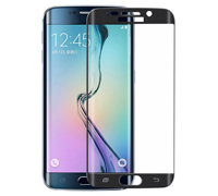 Soultronic Full Cover (Curved) Tempered Glass Protector για Samsung SM-G925F Galaxy S6 Edge Black