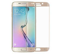 Soultronic Full Cover (Curved) Tempered Glass Protector για Samsung SM-G925F Galaxy S6 Edge Gold