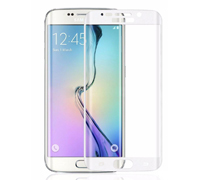 Soultronic Full Cover (Curved) Tempered Glass Protector για Samsung SM-G925F Galaxy S6 Edge White