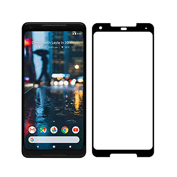 Soultronic Full Face & Curved Tempered Glass Protector για Google Pixel 2 XL Black