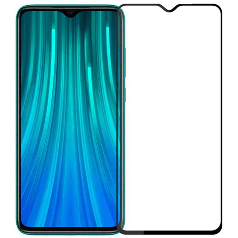 Soultronic Tempered Glass Full Face Screen Protector για Xiaomi Redmi Note 8 Pro Black