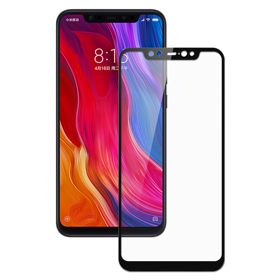 Soultronic Tempered Glass Full Face Screen Protector για Xiaomi Mi 8, Mi 8 Exploler & Mi 8 Pro Black